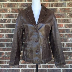 Vintage Wilson Leather Maxima Jacket